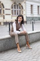 tan Zara pants