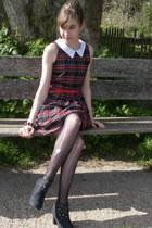 ruby belt BHS belt - BHS dress - BHS heels - Republic bracelet