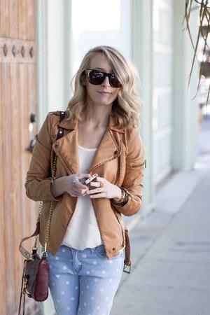 Zara jacket - Joie blouse