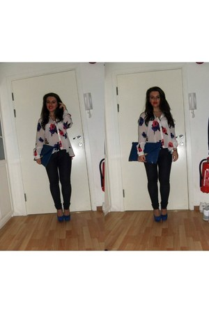 BikBok blouse - Nelly shoes - asos bag