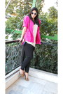 Hot-pink-vintage-blazer-topshop-bag-navy-topshop-pants-off-white-topshop-t