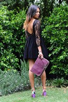 asos dress - Michaela Menichelli bag - asos heels