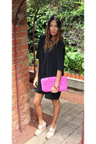 Chloe Makes Three bag - asos dress - zu wedges - Michael Kors watch