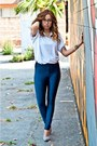 Blue-disco-pants-american-apparel-pants