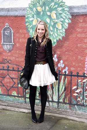 modcloth skirt - Zara coat