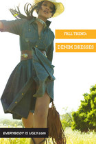 FALL TREND: DENIM DRESSES