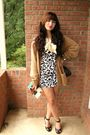 Forever-21-dress-black-forever-21-shoes-black-forever-21-accessories-beige