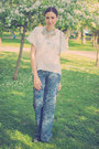 Navy-bershka-pants-silver-happiness-boutique-necklace