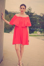 Eggshell-deichmann-shoes-red-blackfive-dress-black-persunmall-jacket
