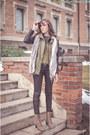 Dark-khaki-deichmann-boots-black-persunmall-jacket-brown-takko-sunglasses