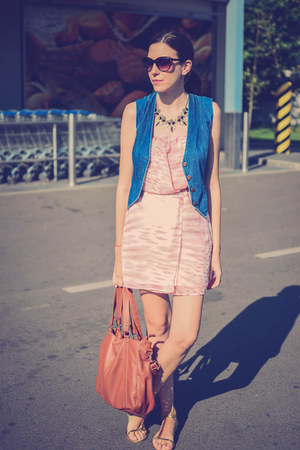 light pink Bershka dress