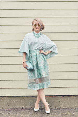 asos skirt - Zara accessories