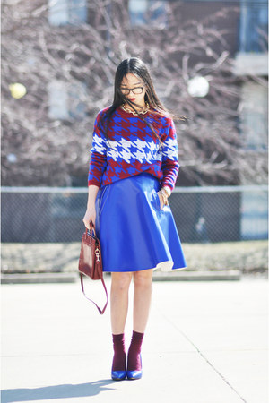 Chicwish sweater - Steve Madden heels