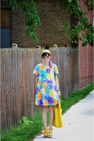 House of Holland dress - baggu bag