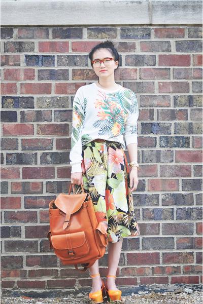 retrosuperfuture sunglasses - Grafea bag - Zara top