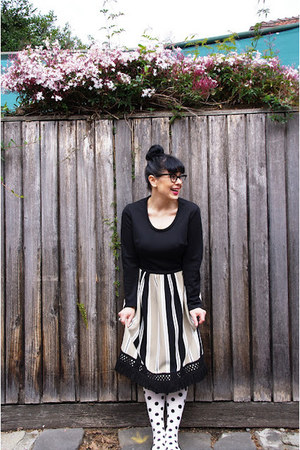 esty dress - OKOK tights - Kmart flats