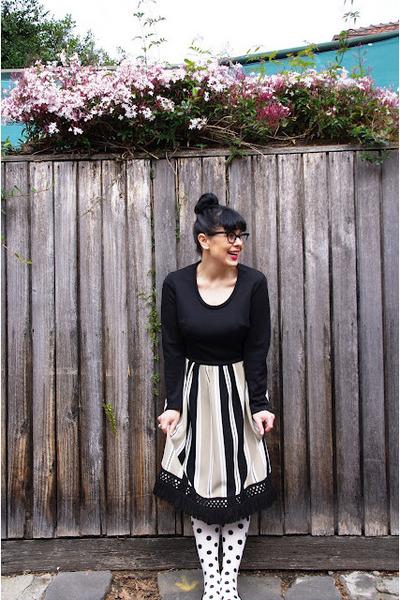 esty dress - OKOK tights - Kmart flats