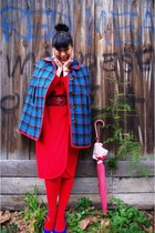 Vintage etsy dress - Pamela Mann tights - Jo Mercer heels - Ebay belt