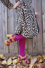 Myer-coat-vintage-ebay-dress-columbine-tights-rubi-heels