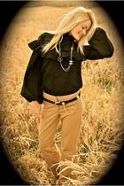 vintage dior blouse - Chloe pants - Chanel accessories