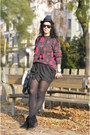 Vintage-sweater-wwwfeliceecom-skirt-ringeraja-necklace