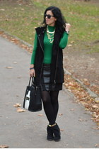 New Yorker skirt - wwwvj-stylecom bag - H&M vest