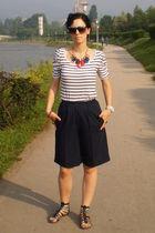 H&M accessories - H&M shirt - vintage shorts - Ebay glasses