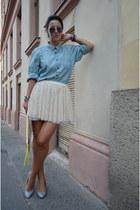 Zara skirt - New Yorker shoes - H&M shirt - H&M bag