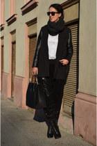 asos boots - H&M blazer - wwwvj-stylecom bag - Vero Moda pants