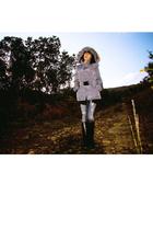 Zara jacket - vintage jeans - vintage shoes - Zara sweater