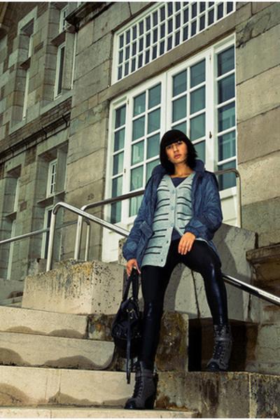 Zara jacket - Primark sweater - aa pants - Bimba&Lola shoes