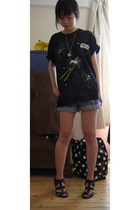 Japan t-shirt - Ebay shorts - Zara shoes