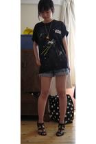 Japan t-shirt - Ebay shorts - Zara shoes