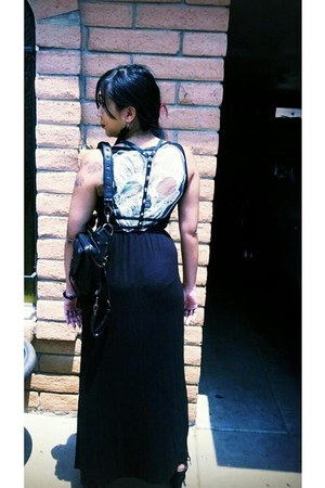 black dress - black Sugar N Spikes Accessories belt