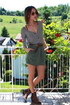 Xetra skirt - Zara shirt