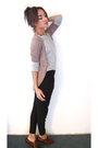 Black-silencenoise-pants-silver-old-navy-sweater-silencenoise-cardigan-ste