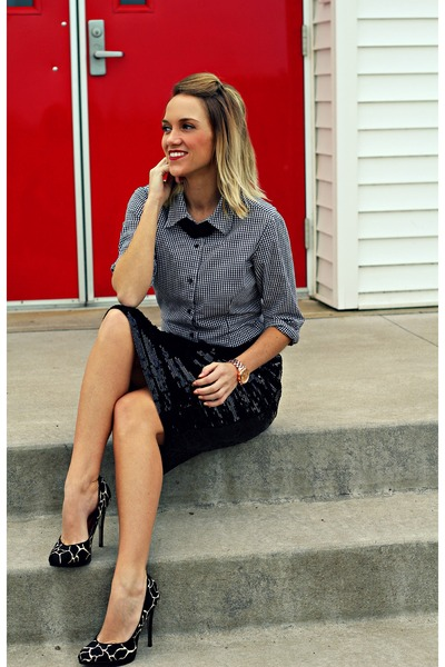 black banana republic skirt