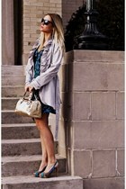 heather gray cynthia rowley coat