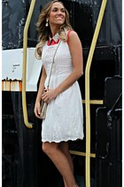 white Old Navy dress