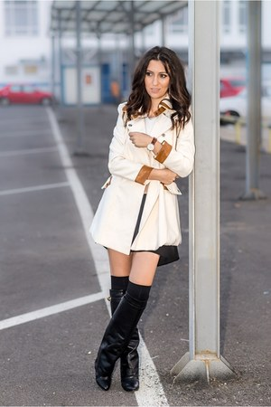 jessica burtmann boots - Sheinside coat