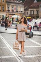 Choies shoes - Zara dress - Aldo bag