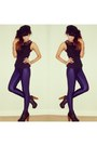 Navy-disco-karma-clothing-leggings