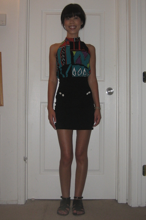 top - H&M skirt - ecote shoes -