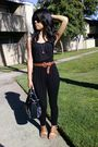 Black-old-navy-top-black-lush-leggings-brown-unknown-belt-black-steve-madd