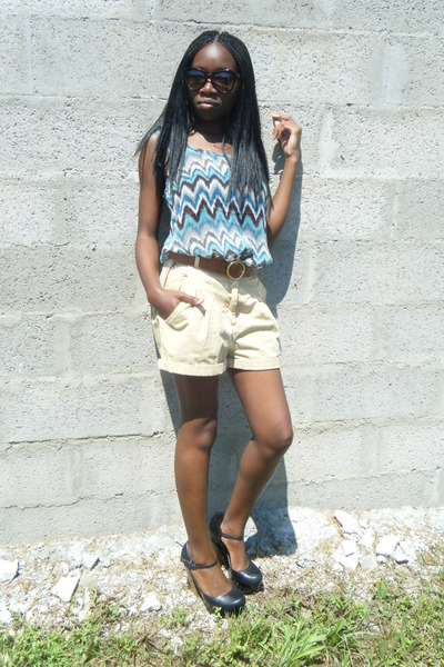 H&M shorts - asos shoes - H&M belt
