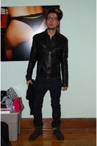 Gingham Blue Jays New Era hat - jeans - Philip Sparks shoes - Ralph Lauren scarf