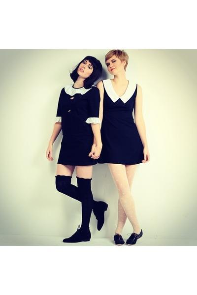 benni boots Modern Vice boots - vivetta dress - vintage dress dress