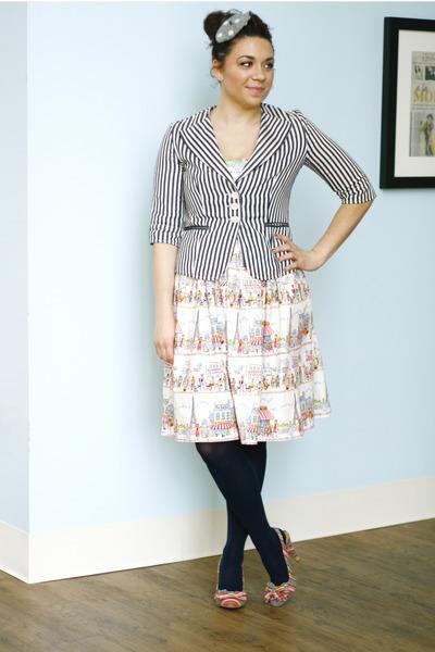 bubble gum eiffle tower Year Abroad Dress dress