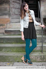Light-blue-modcloth-jacket-teal-modcloth-tights-black-modcloth-skirt