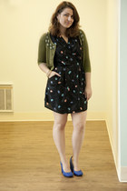 black sprouts Sprout It Out Dress dress